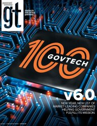 cover of Government Technology Magazine January/February 2021
