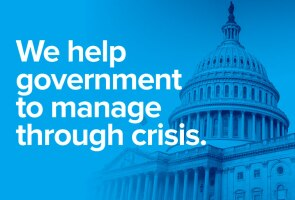 We help government manage through crisis