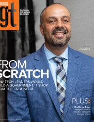 Government Technology magazine cover September 2021