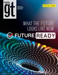 cover of Government Technology Future Ready Special Issue November 2020